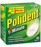 Polident Denture Cleanser Tablet 40ct
