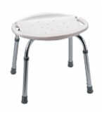 Bath And Shower Seat Adjustable Without Back B650-Carex