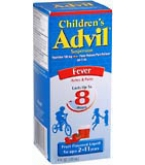Advil Childrens Suspension Fruit Flavored 4 oz****OTC DISCONTINUED 3/3/14