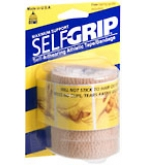 Self-Grip Self-Adhering Athletic Tape Bandage 3 Inches Beige