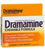 Dramamine Chewable Tablet 8ct