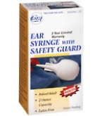 Cara Ear Syringe With Safety Guard 2-Ounce No. 20
