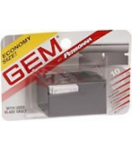 Gem Single Edge Super Stainless Steel Blades 10-Pack****OTC DISCONTINUED 2/28/14