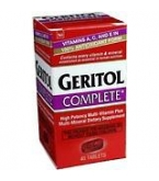 Geritol Complete Tablet 40ct