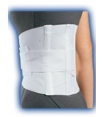 Back Support  Criss-Cross White Medium-Bell Horn****OTC DISCONTINUED 3/5/14