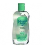 Johnson & Johnson Baby Oil Aloe Plus Vitamin E 14 oz