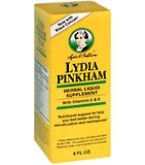 Lydia Pinkham Herbal Liquid 8 oz