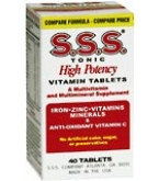 S.S.S. Tablets 40ct
