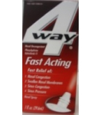 4-Way Nasal Spray Fast Acting .5 oz