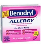 Benadryl Ultratab - 48 Tablet Box