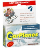 Earplanes Ear Plugs Adult 1 Pair