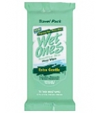 Wet Ones Wipes Travel Pack for Sensitive Skin 15 ct