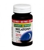 Natures Bounty Melatonin 3mg Tablet 120ct