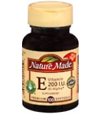 Nature Made Vitamin E 200 I.U. Softgels 100ct