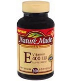 Nature Made Vitamin E 400 I.U. Softgels 300ct