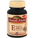 Nature Made Vitamin E 400 I.U. Softgels 100ct