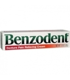 Benzodent Denture Pain Relief Cream - 1oz