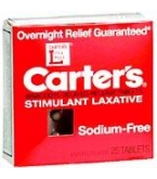 Carters Laxative Pills - 25***otc Discontinued  2/25/14