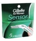 Gillette Sensor Women Blades 5ct