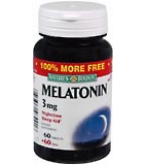 Natures Bounty Melatonin 3 mg Tablets - 120