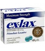 Ex-Lax Maximum Relief Formula Tablet 48ct