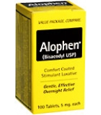 Alophen Tablets - 100****OTC DISCONTINUED 3/4/14