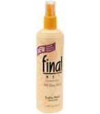 Final Net Hairspray Non-Aerosol Extra Hold Unscented 12 oz