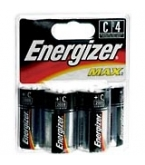 Eveready Battery Energizer C   4/Pk