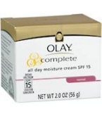 Olay Complete All Day Moisture Cream SPF 15 2 oz