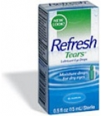 Refresh Tears Lubricant Eye Drops - .5oz