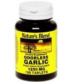 Natures Blend Odorless Garlic Tablets 100ct