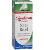 Similasan Sinus Relief Nasal Spray 15 ml