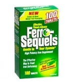 Ferro-Sequels Tablets Blister Pak 100ct