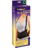 Bell Horn Industrial Back Support Medium Black 1 Each****OTC DISCONTINUED 3/5/14
