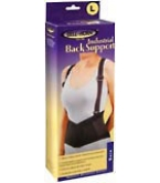 Bell Horn Industrial Back Support Large Black 1 Each****OTC DISCONTINUED 3/5/14