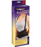 Bell Horn Industrial Back Support X-Large Black 1 Each