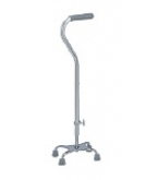 Quad Cane Small Base With Offset Handle A736-Carex