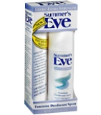 Summers Eve Feminine Deodorant Spray Ultra Extra Strength 2 oz