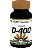 Windmill Vitamin D-400 Tablets 100ct