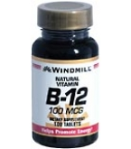 Windmill Vitamin B-12 100 mcg Tablets 100ct