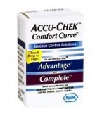 Accu-Chek Comfort Curve Control 1-High 1-Low****OTC DISCONTINUED 2/28/14