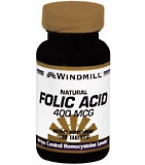 Windmill Folic Acid 400 mcg Tablets 180ct