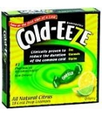 Cold-Eeze Cold Remedy Lozenges Natural Lemon Lime Flav Box 18ct