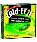 Cold-Eeze Cold Remedy Lozenges Natural Lemon Lime Flav Box 18ct