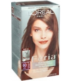 L'Oreal Feria - 60 Crystal Brown (Light Brown)