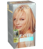 L'Oreal Feria - 100 Pure Diamond (Very Light Natural Blonde)