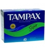 Tampax Flushable Super - 40