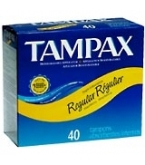 Tampax Flushable Regular - 40