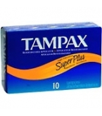 Tampax Flushable Super Plus - 10****OTC DISCONTINUED 2/28/14