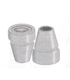 Cane Tip 3/4 Inch Grey Each